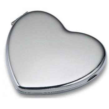 Зеркальце Philippi Love в виде сердца